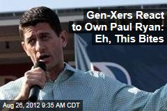 Gen-Xers React to Own Paul Ryan: Eh, This Bites