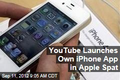 YouTube Launches Own iPhone App in Apple Spat