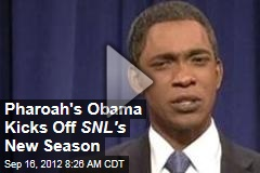 Pharoah's Obama Kicks Off SNL's New Season