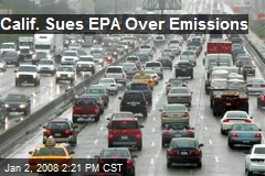 Calif. Sues EPA Over Emissions