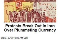 Protests Break Out in Iran Over Plummeting Currency