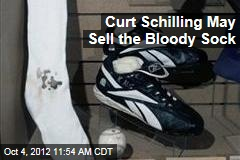 Curt Schilling May Sell the Bloody Sock