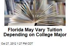 Florida May Vary Tuition Depending on College Major