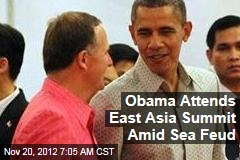 Obama Attends East Asia Summit Amid Sea Feud