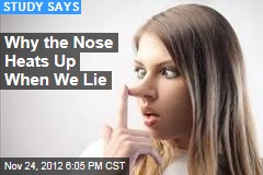 How the Nose Really Does Give Away Liars