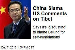China Slams US Comments on Tibet