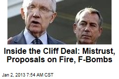 Inside the Cliff Deal: Mistrust, Proposals on Fire, F-Bombs