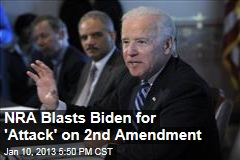 NRA Blasts Biden for 'Attack' on 2nd Amendment