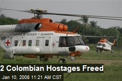 2 Colombian Hostages Freed