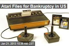 Atari Files for Bankruptcy in US