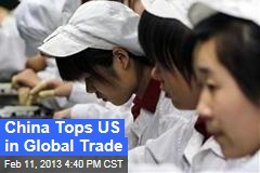 China Tops US in Global Trade