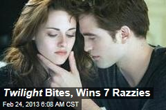 Twilight Bites, Wins 7 Razzies