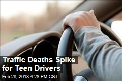 Traffic Deaths Spike for Teen Drivers