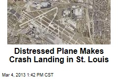 Distressed Plane Makes Crash Landing in St. Louis