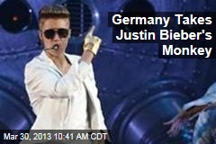Germany Takes Justin Bieber's Monkey