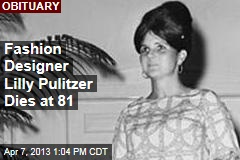Fashion Designer Lilly Pulitzer Dies at 81