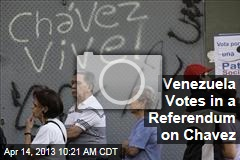 Venezuela Votes in a Referendum on Chavez