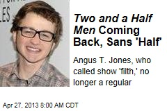 Two and a Half Men Coming Back, Sans 'Half'