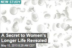 A Secret to Women's Longer Life Revealed