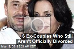 6 Ex-Couples Who Still Aren't Officially Divorced