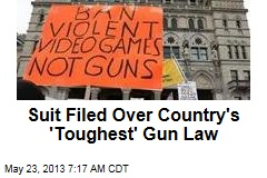 Suit Filed Over Country's 'Toughest' Gun Law