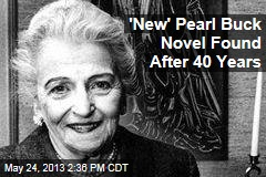 'New' Pearl Buck Novel Found After 40 Years