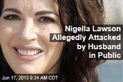Nigella Lawson Allegedly Attacked by Husband at Restaurant