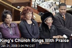 King's Church Rings With Praise