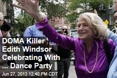 DOMA Killer Edith Windsor Celebrating With ... Dance Party