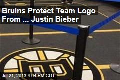 Bruins Protect Team Logo From ... Justin Bieber