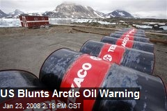 US Blunts Arctic Oil Warning