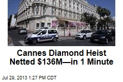 Cannes Diamond Heist Netted $136M—in 1 Minute