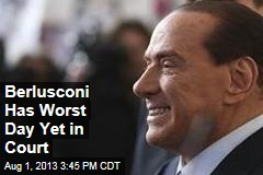 Berlusconi Has Worst Day Yet in Court