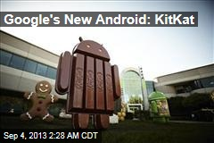 Google's New Android: KitKat