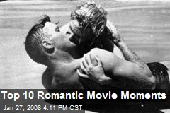 Top 10 Romantic Movie Moments