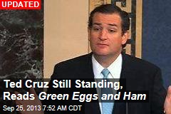 Ted Cruz Reads 'Green Eggs And Ham '