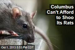 Columbus Can't Afford to Shoo Its Rats