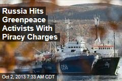 Russia Charges 5 in Greenpeace With Piracy