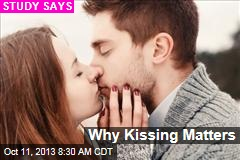 Kissing Helps Us Find a Mate