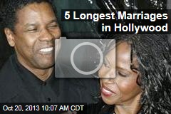 5 Longest Marriages in Hollywood