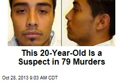This 20-Year-Old Is a Suspect in 79 Murders