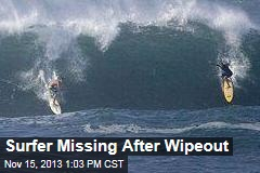 Surfer Missing After Wipeout