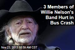 3 Members of Willie Nelson's Band Hurt in Bus Crash