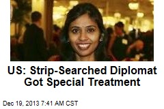 US: Strip-Searched Diplomat Got Special Treatment