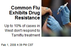Common Flu Exhibits Drug Resistance