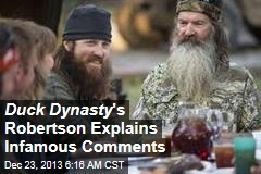 Duck Dynasty 's Robertson: I'm a Lover, Not a Hater