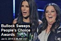 Bullock Sweeps People's Choice Awards