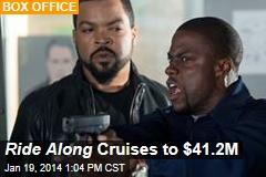 Ride Along Cruises to $41.2M