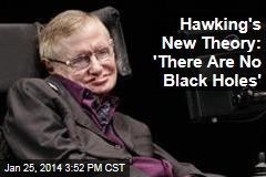 Hawking's New Theory: 'There Are No Black Holes'