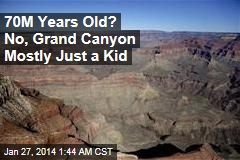 Grand Canyon Much Younger Than Thought